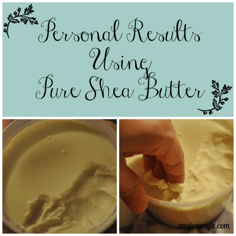 Personal Results from Pure Shea Butter #Adovia