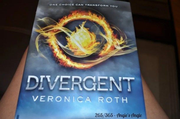 Catch the Moment 365 - Day 265 - Finally Reading Divergent