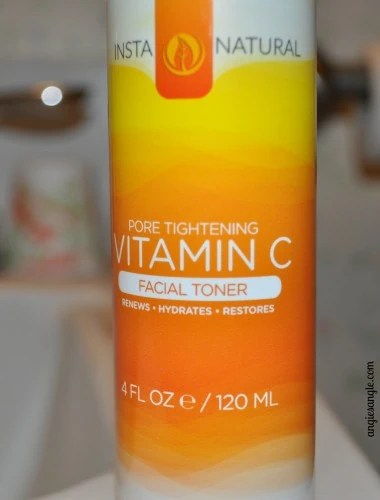 Toned Facial Skin with little effort with Vitamin C Facial Toner #instanatural