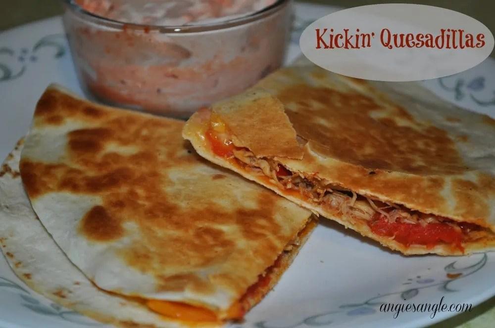 Mezzetta Recipe - Kickin Quesadillas