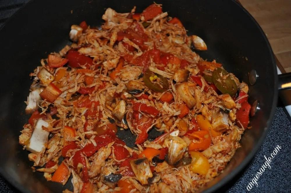 Mezzetta Recipe - Veggies Added