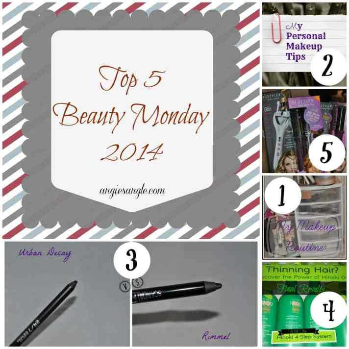 Top 5 Beauty Monday 2014