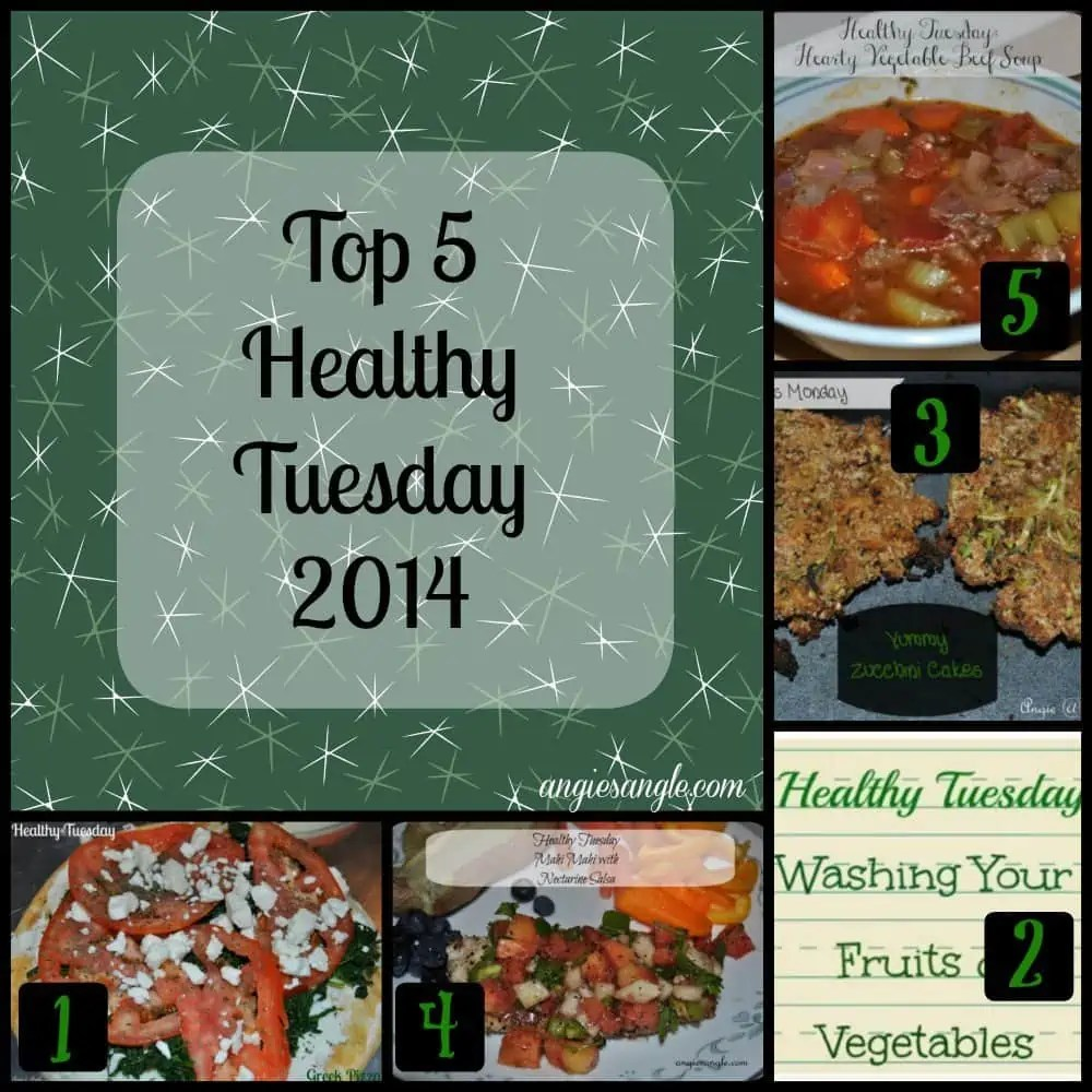 Top 5 Healthy Tuesday 2014