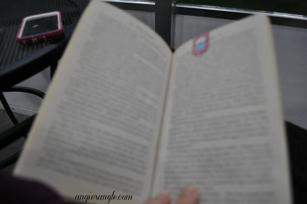 Catch the Moment 365 - Day 23 - Reading at Soccer