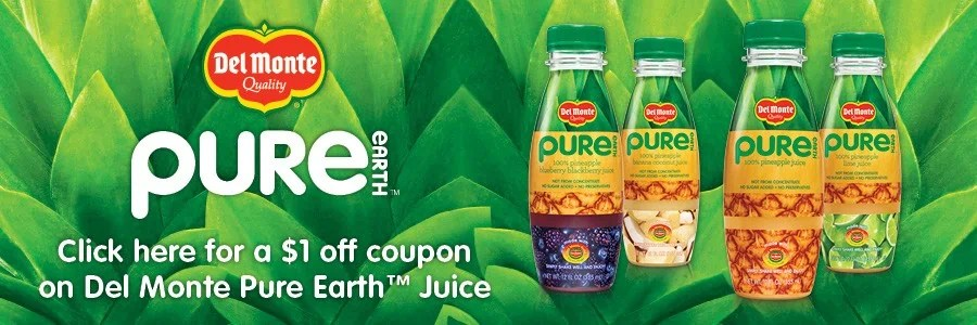 Pure Earth Juice Coupon Picture