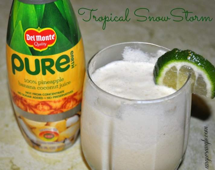 Tropical SnowStorm with Pure Earth Juice