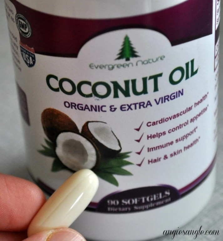 Coconut Oil Softgels - Pill Size