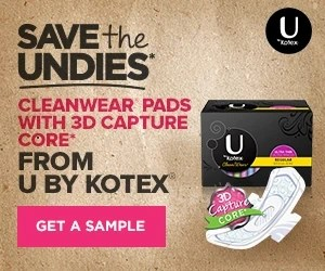 Save the Undies with U by Kotex