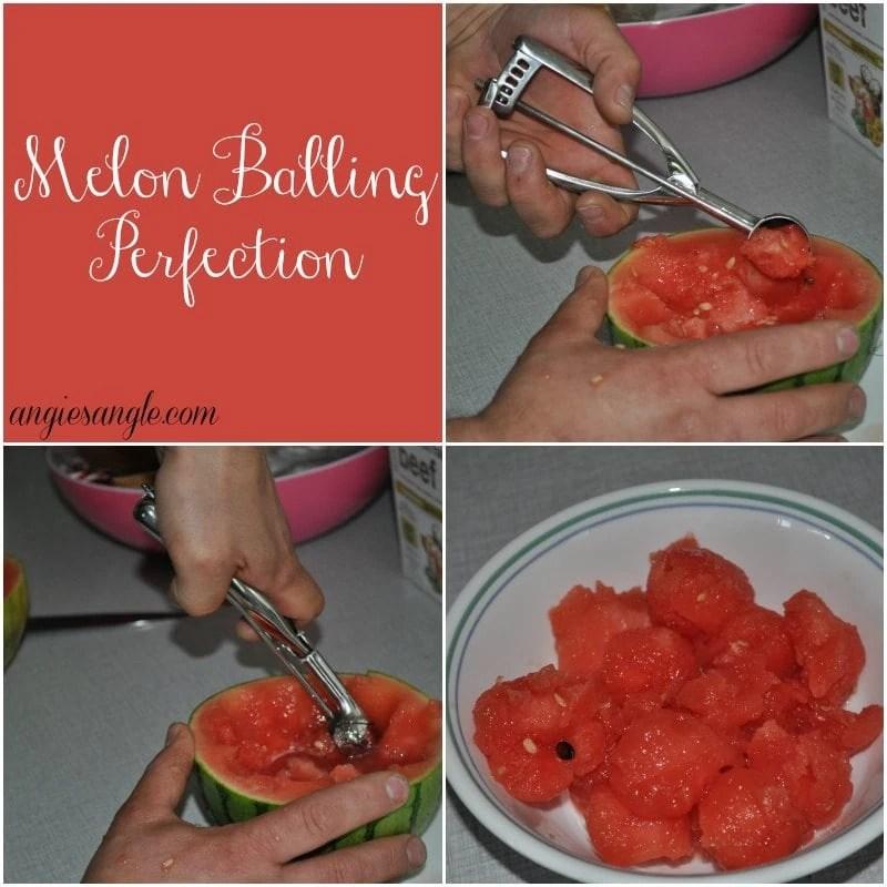 Ice Cream Scoop - Melon Balling