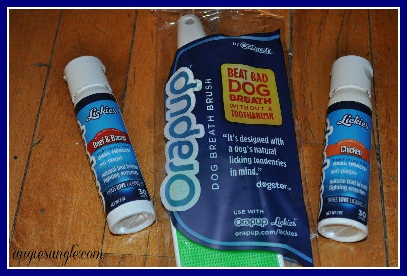 Orapup Dog Tongue Brush Starter Kit