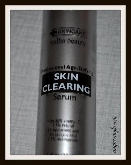 Radha Beauty's Clearing Serum #BeautyMonday