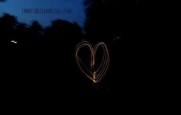 Project 52 - Patriotic - Favorite - Heart-Sparkler