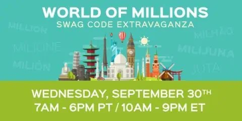 World Of Millions – Swag Code Extravaganza