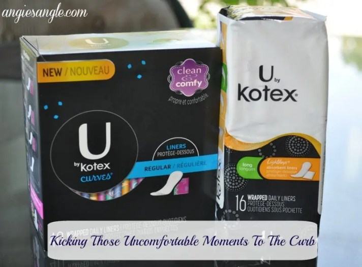 Kick Those Uncomfortable Moments to the Curb - Kotex