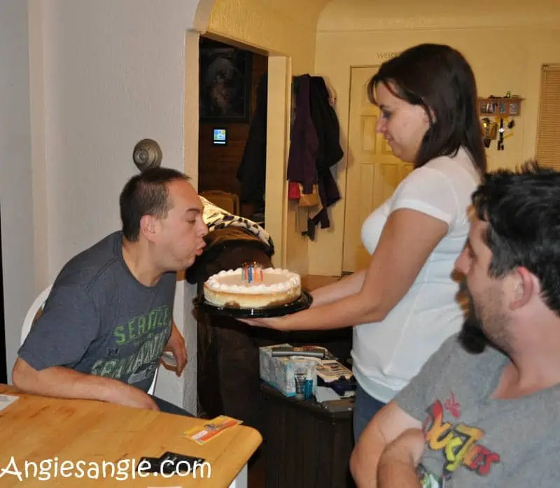 Catch the Moment 365 - Day 319 - Birthday Cheesecake