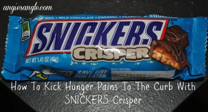 Kick Hunger Pains To The Curb - Snickers Crisper