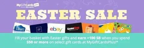 Swagbucks Easter Sale