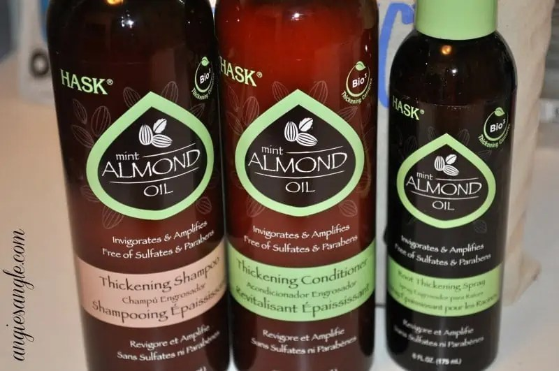 Hask Mint Almond Oil