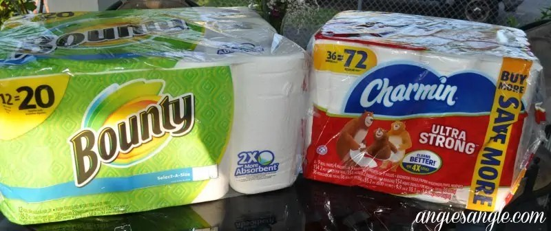 P&G Products From Walmart - Charmin and Bounty