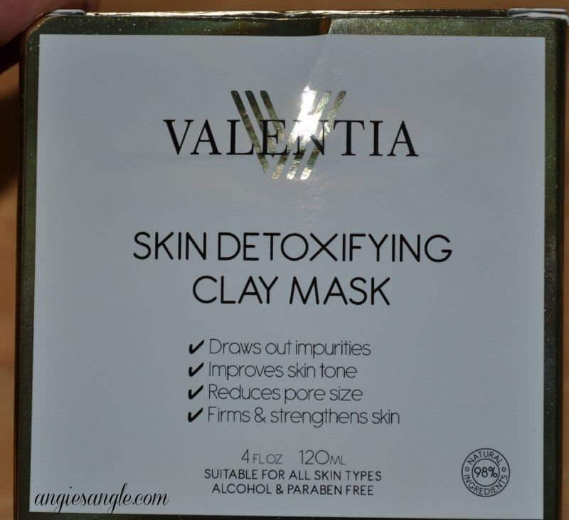 My Results With Skin Detoxifying Clay Mask #BeautyMonday