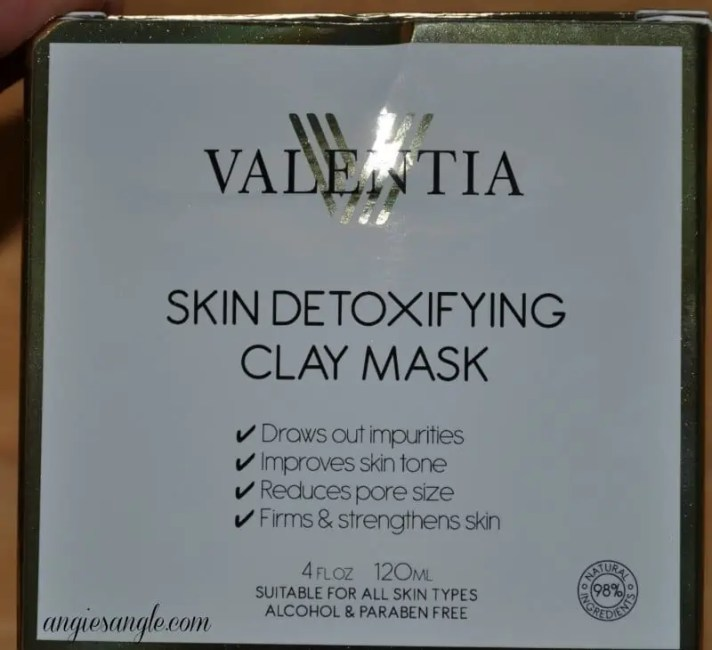 Skin Detoxifying Clay Mask - Box