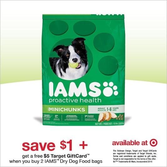 IAMS Dog Food Savings at Target