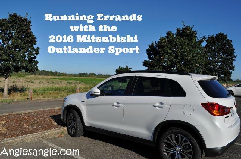 Running Errands With 2016 Mitsubishi Outlander Sport