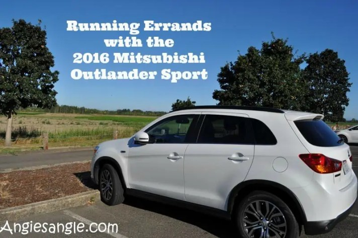 Running Errands With The 2016 Mitsubishi Outlander Sport - Header