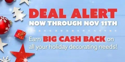 Home Decor Big Cashback on Swagbucks