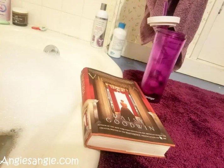 Catch the Moment 366 Week 49 - Day 339 - Bubble Bath and Book