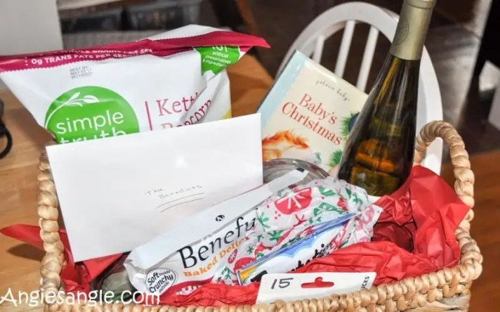 Catch the Moment 366 Week 51 - Day 354 - Neighbor Gift Basket Finished