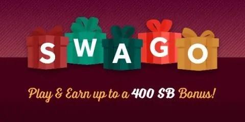 Holiday Themed Swago with Swagbucks