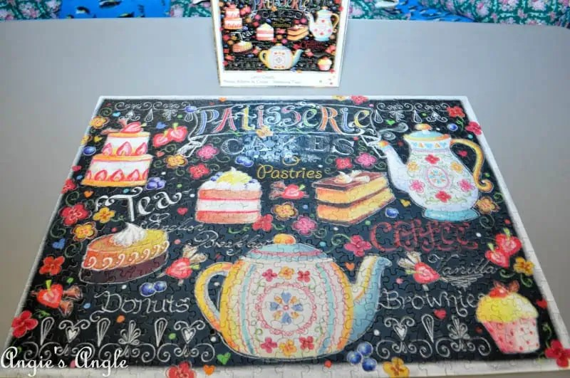 2017 Catch the Moment 365 Week 3 - Day 15 - Tea and Cake Jigsaw Puzzle