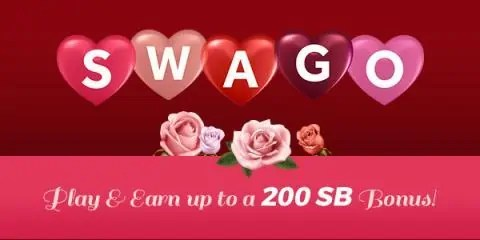 Valentines Swago with Swagbucks