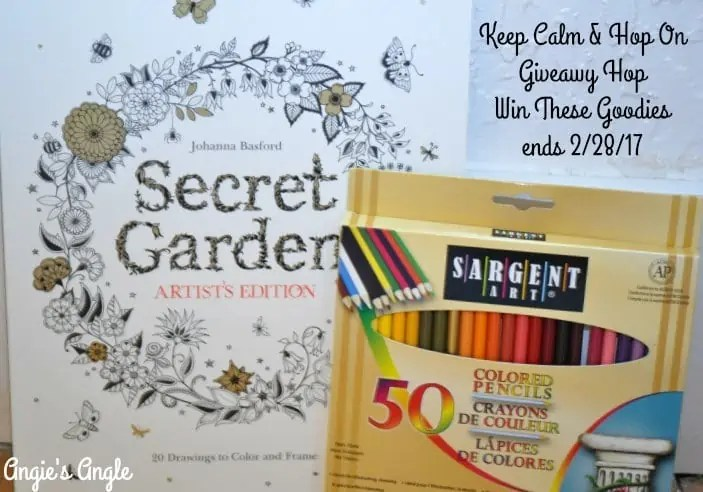 Keep Calm and Hop On Giveaway Hop – Win Color Book and Pencils ends 2/28/17