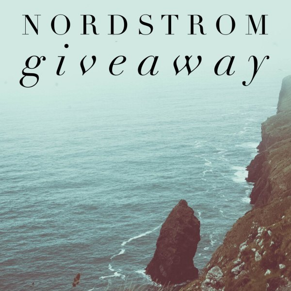 Nordstrom Giveaway for March