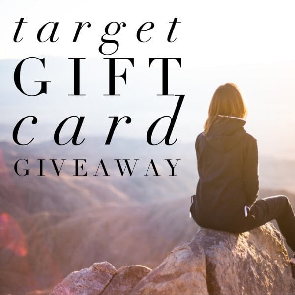 April Target Giveaway ends May 19, 2017