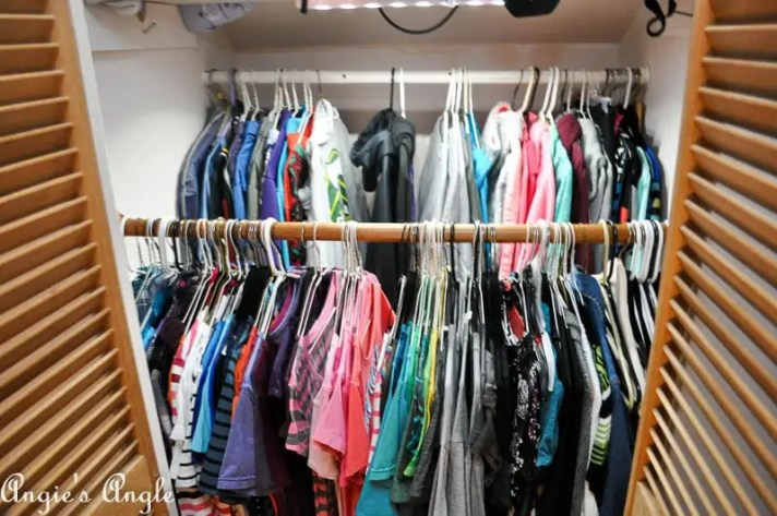 2017 Catch the Moment 365 Week 21 - Day 142 - Cleaned Closet
