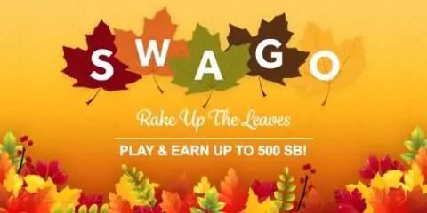 Swago Rake Up the Leaves with Swagbucks