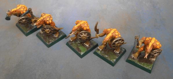 Rebasing Lizardmen - Old Bases