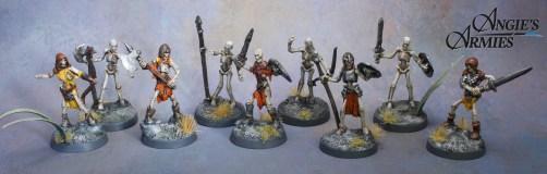 Reaper Bones Skeletons