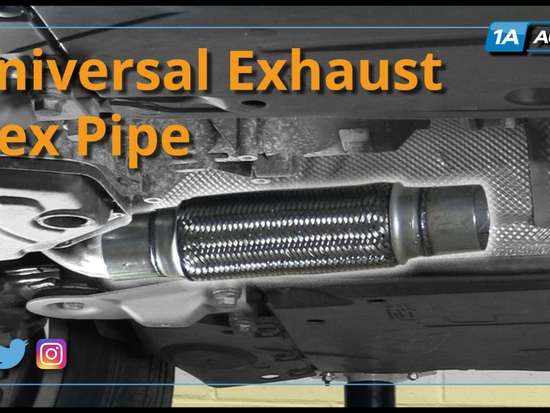 2006 toyota camry exhaust flex pipe