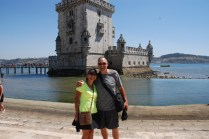 At the Belem Tower