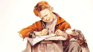 writer by Norman Rockwell 300x168 Self Publishing Flooding