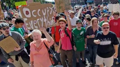 occupy wall street America Polarized