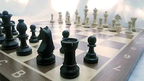 chess board English through Chess
