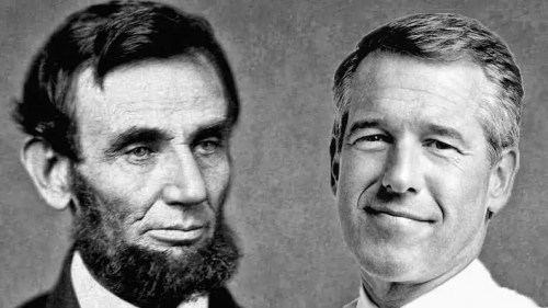 Abraham-Lincoln-and-Brian-Williams
