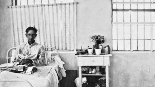 Avant Garde of Western Civilization - man-in-hospital-bed