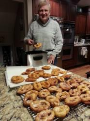 Honey Glazed Pretzel Donuts Feb. 2015