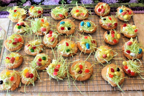 Easter Bird's Nest Cookies (2)